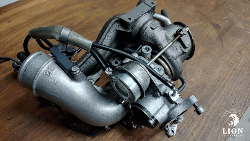 Gereviseerde Borg K03 turbo