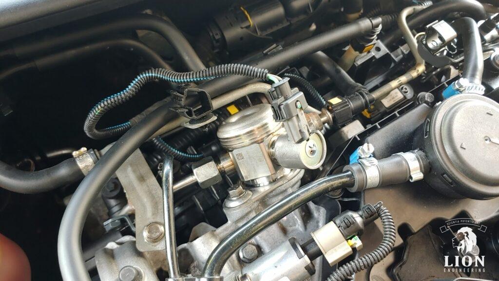 GM injectiepomp 13518605102 ter vervanging van 55220390 gemonteerd in de Lancia 1.8di / Alfa 159 1750tbi motor